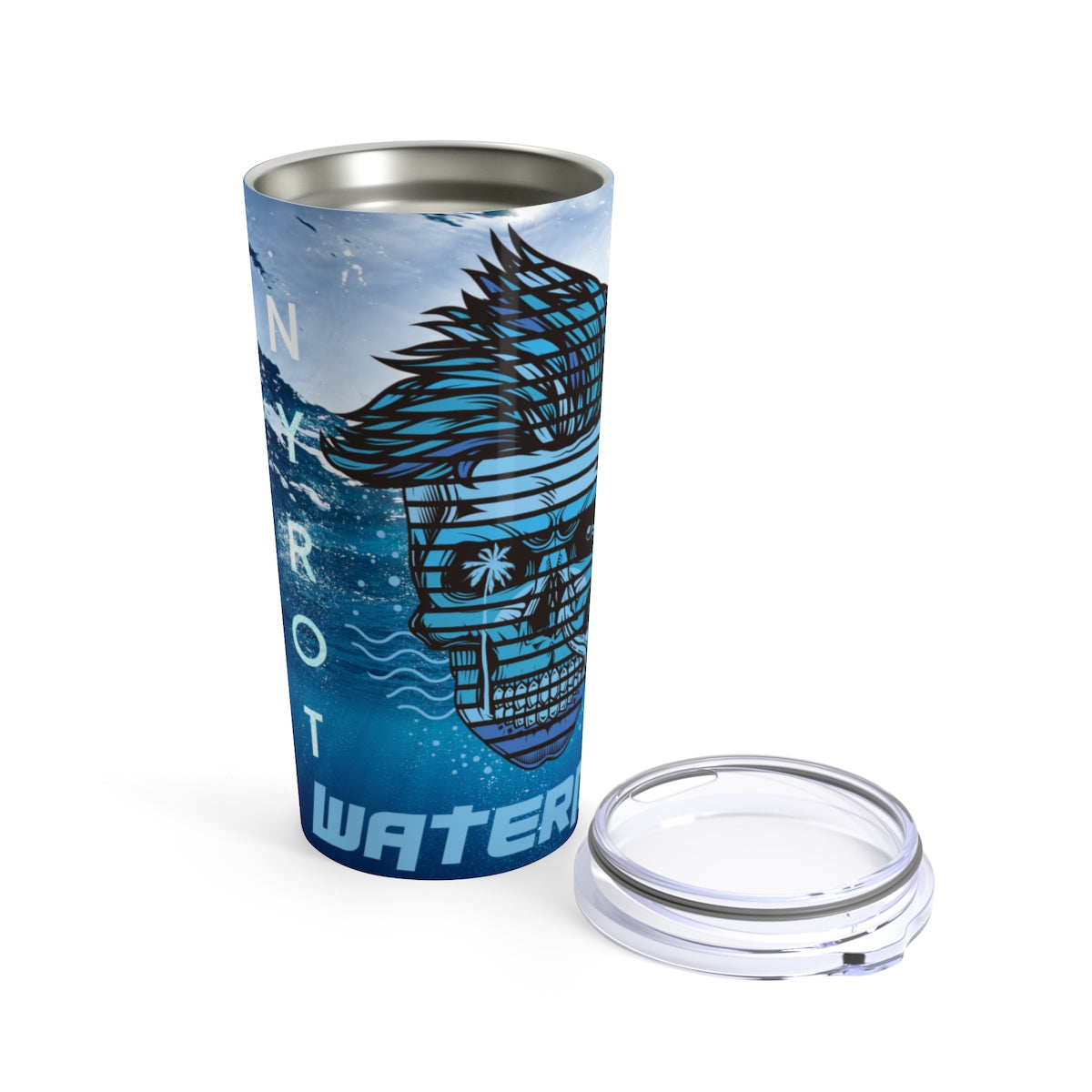 FYC Life Stainless Steel Waterman 20 oz Tumbler - Find Your Coast Supply Co.
