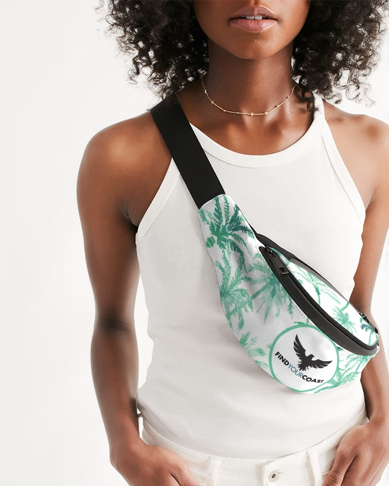 Crossbody Sling Bag Palms for Days - Find Your Coast Supply Co.