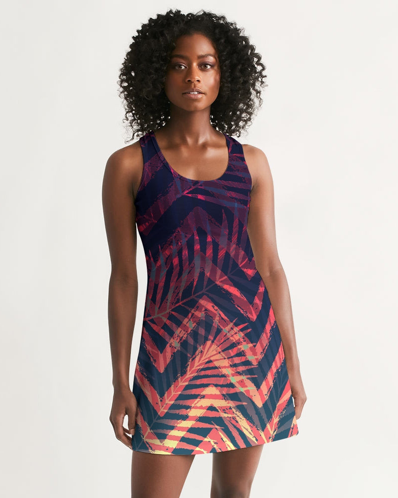 Women's Olivia II Fun and Flirty Casual Racerback Dress - Find Your Coast Supply Co.