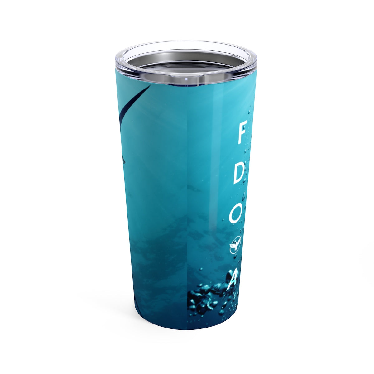 FYC Stainless Steel Pacific Blue Marlin 20 oz Tumbler - Find Your Coast Supply Co.