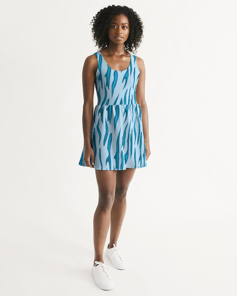 Women's Energizer Scoop Neck Casual and Fun Skater Dress - Find Your Coast Supply Co.