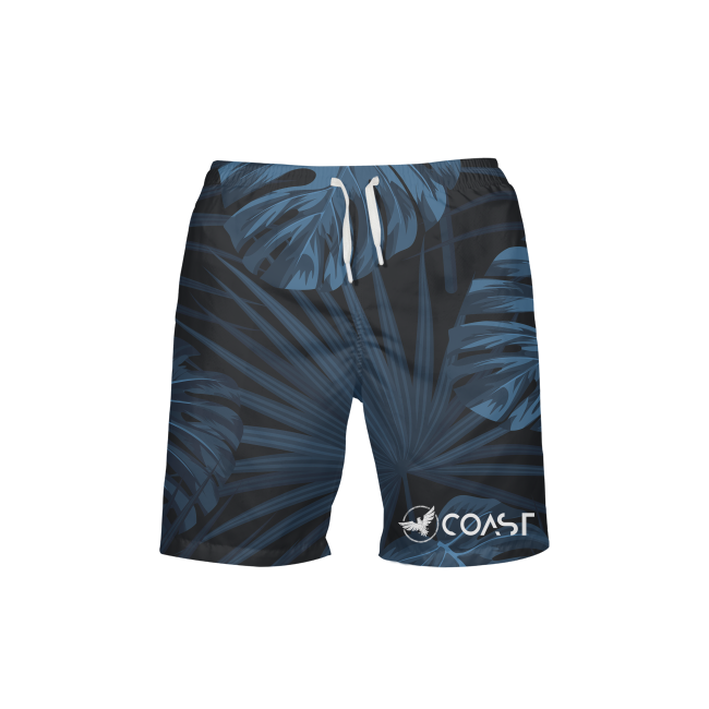Men's Find Your Coast Islander Beach Shorts UPF 40+ w/Lining