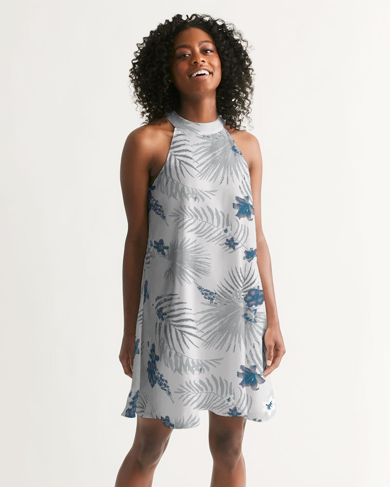 Women's Palm Soul Casual Halter Dress - Find Your Coast Supply Co.