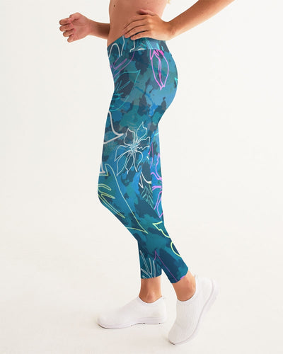 Women's Active Comfort ALOHA Camo Sport Yoga Pant - Find Your Coast Supply Co.