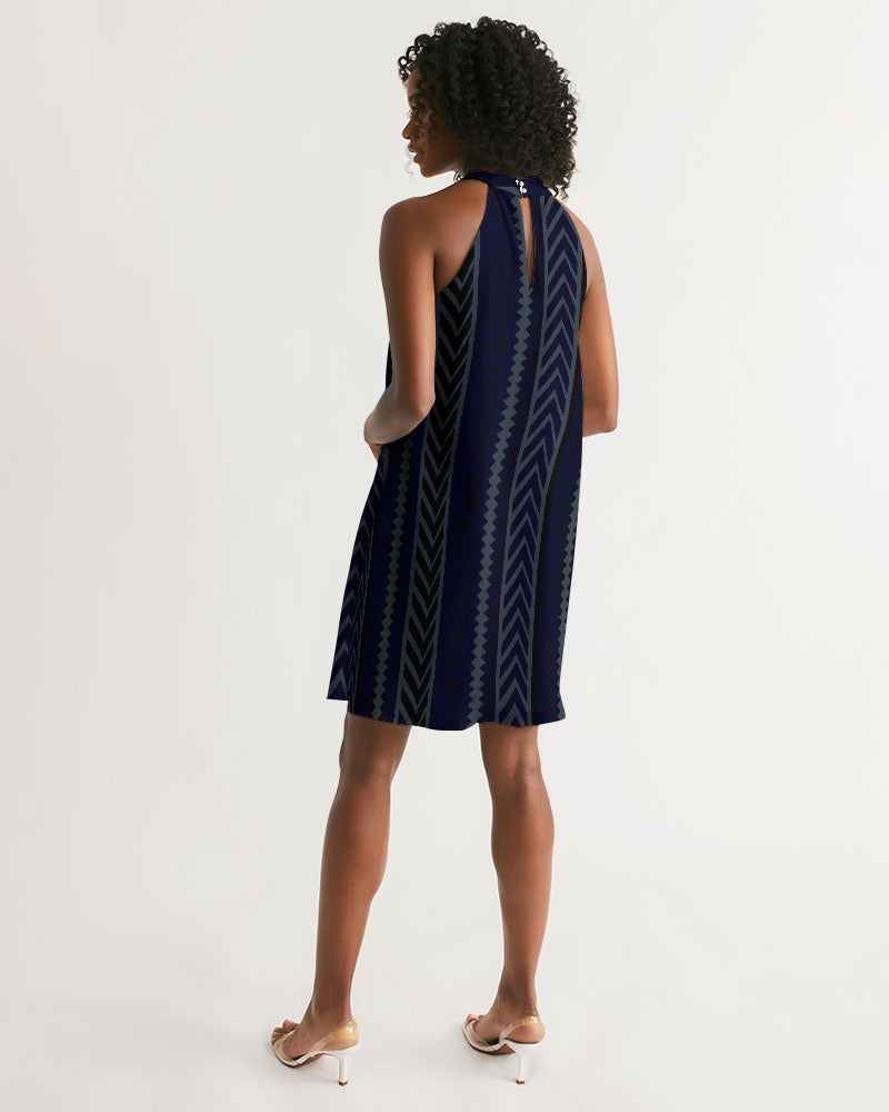 Women's One-Way Halter Dress - Find Your Coast Supply Co.