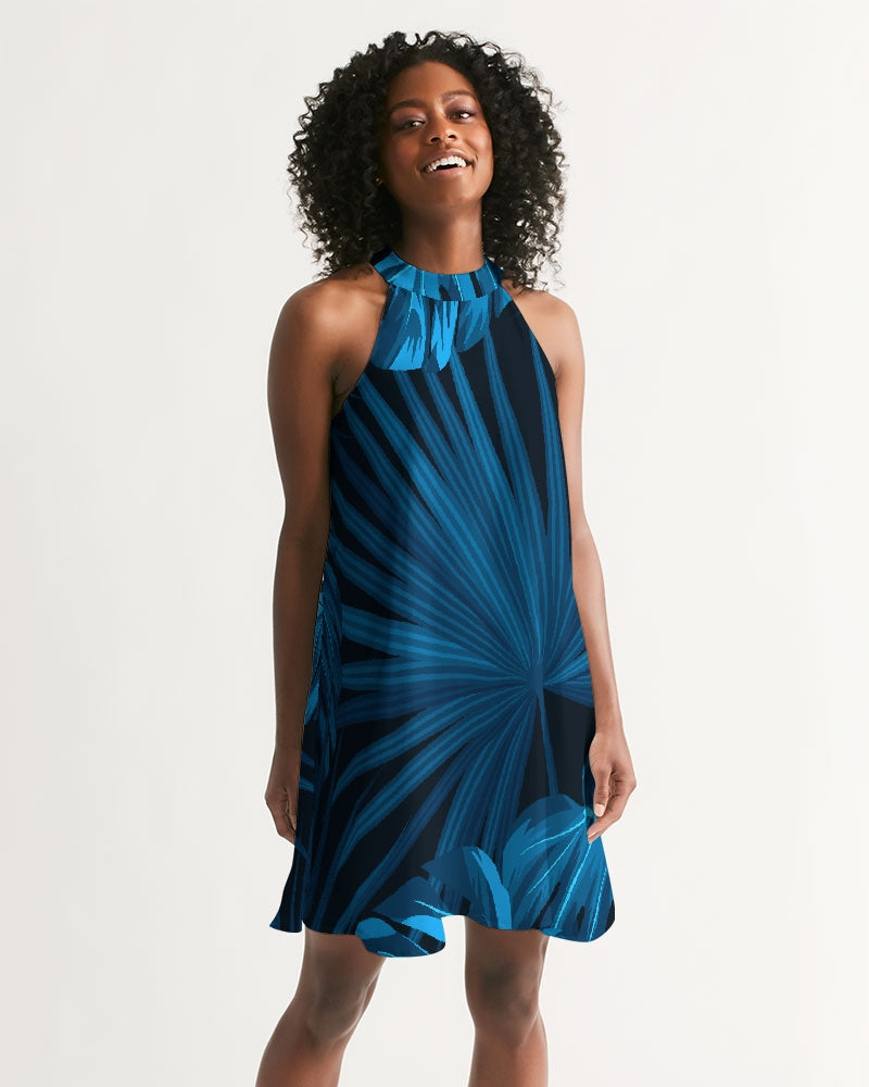 Women's Headed South Casual Halter Dress - Find Your Coast Supply Co.
