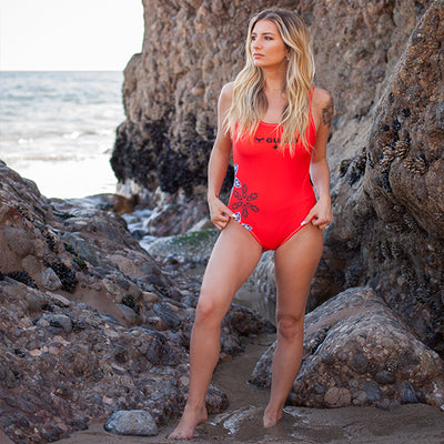 FYC Swim One-Piece Guard Swimsuit - Find Your Coast Brand