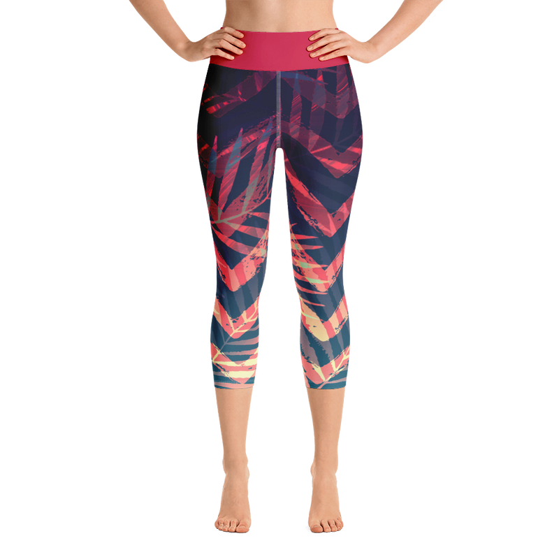 Women's Active Comfort Sport Olivia II Capri Leggings - Find Your Coast Brand