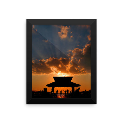 Rayss -  Framed photo paper poster - FindYourCoast Apparel