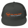 Find Your Coast Supply Company Mesh Back Adjustable Snapback Hat - Find Your Coast Supply Co.