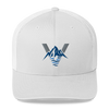 Mountains to Coast FYC Venture Pro Vintage White Trucker Hat - Find Your Coast Supply Co.