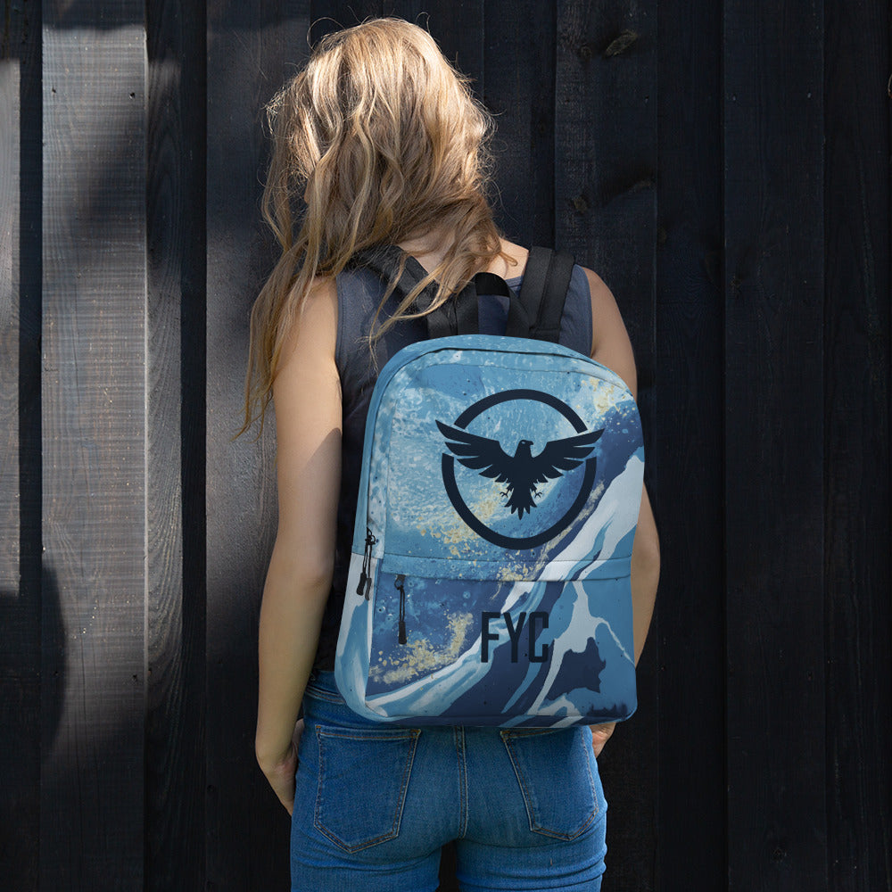 FindYourCoast Water Resistant Backpack - Find Your Coast Brand