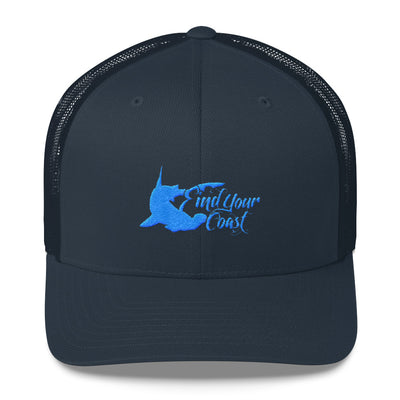 Find Your Coast Hammerhead Trucker Cap - Find Your Coast Apparel