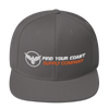 Find Your Coast Supply Company Snapback Hat - Find Your Coast Supply Co.