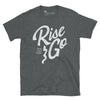 Men's Supply Co. Rise and Go Short-Sleeve Dark Heather Tee - Find Your Coast Supply Co.