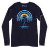 Men's Supply Co. Sunset Explorer Navy Versatile Long Sleeve Crewneck Tees - Find Your Coast Supply Co.