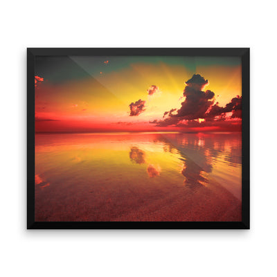 Purview - Framed photo paper poster - FindYourCoast Apparel
