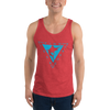 Men's Blue Coast Fishing Classic Tank Top - Find Your Coast Brand