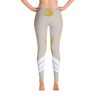 All Day Comfort Venture Pro Pineapple Leggings - Find Your Coast Brand