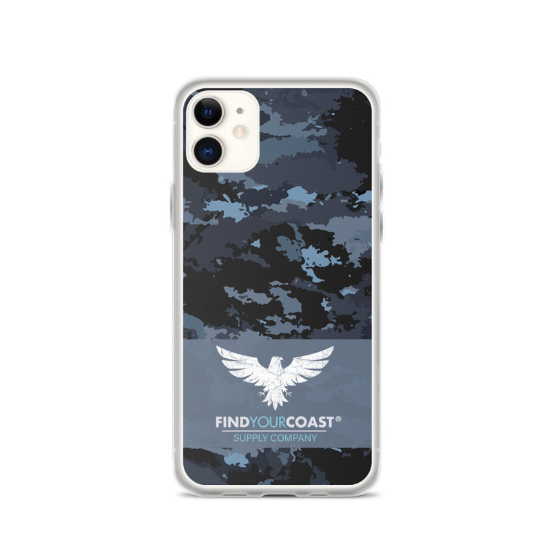 Find Your Coast Supply Company iPhone Cases (select model 6, 7, 8, X, XS, XR, XS Max, 11, 11 Pro & Max)