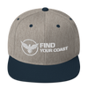 Find Your Coast Premium Snapback Adjustable Hat - Find Your Coast Supply Co.