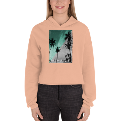 Women's Paradise Nights Cropped Fleece Hoodie