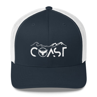 Mountains to Coast Vintage Trucker Cap - Find Your Coast Brand