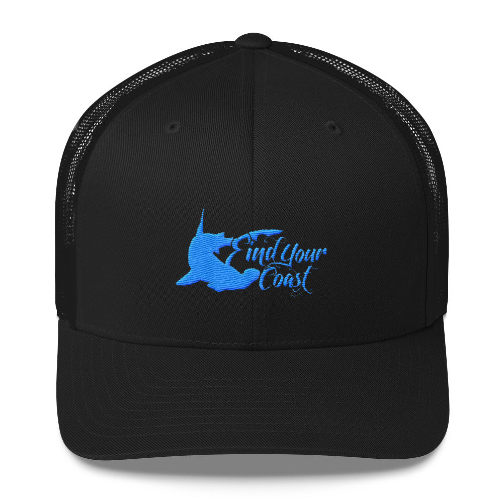 Find Your Coast Hammerhead Trucker Cap - Find Your Coast Brand