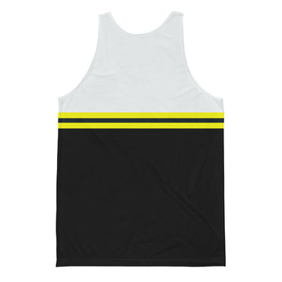 Men's Striped Jersey Tank Top - Find Your Coast Apparel
