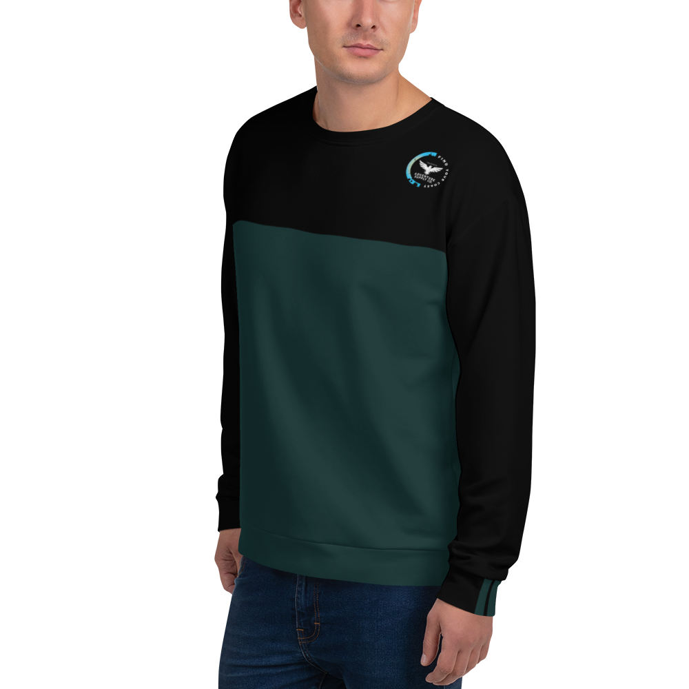 Men's Find Your Coast Supply Co. Colorblock Crewneck Sweatshirt - Find Your Coast Supply Co.