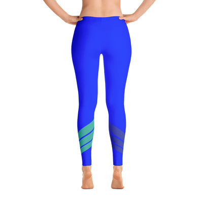 All Day Comfort Venture Pro Stripe Leggings - Find Your Coast Apparel