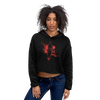 Women's First Love Cropped Cotton Fleece Hoodie - Find Your Coast Supply Co.