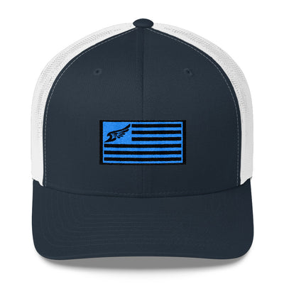 Find Your Coast Allegiance Flag Vintage Trucker Hat - Find Your Coast Supply Co.