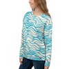 Women's Wave Places Brushed Fleece Sweatshirt - Find Your Coast Supply Co.
