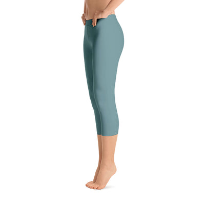 All Day Comfort Capri Leggings Pacific Supply II Slate - Find Your Coast Brand