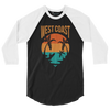 Find Your Coast Raglan Shirt