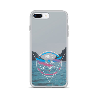 iPhone Cases (select to fit iPhone 6, 7, 8, S, Plus and X models) - Find Your Coast Supply Co.