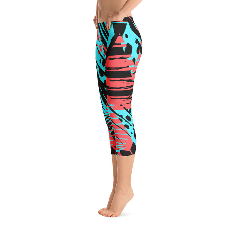 All Day Comfort Capri Leggings Coronado - Find Your Coast Brand