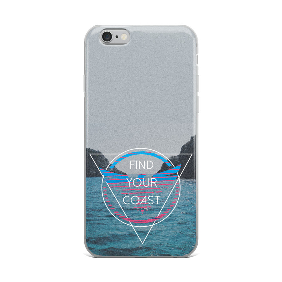 iPhone Cases (select to fit iPhone 6, 7, 8, S, Plus and X models) - Find Your Coast Brand
