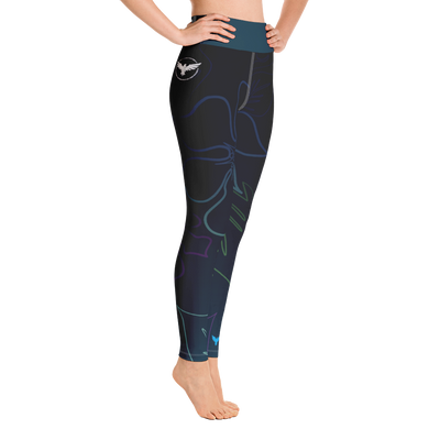 Women's Active Comfort Sport Wild Side Leggings - Find Your Coast Brand