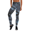 Women's Active Comfort Crossover Coast Camo Full Length Sport Leggings - Find Your Coast Supply Co.