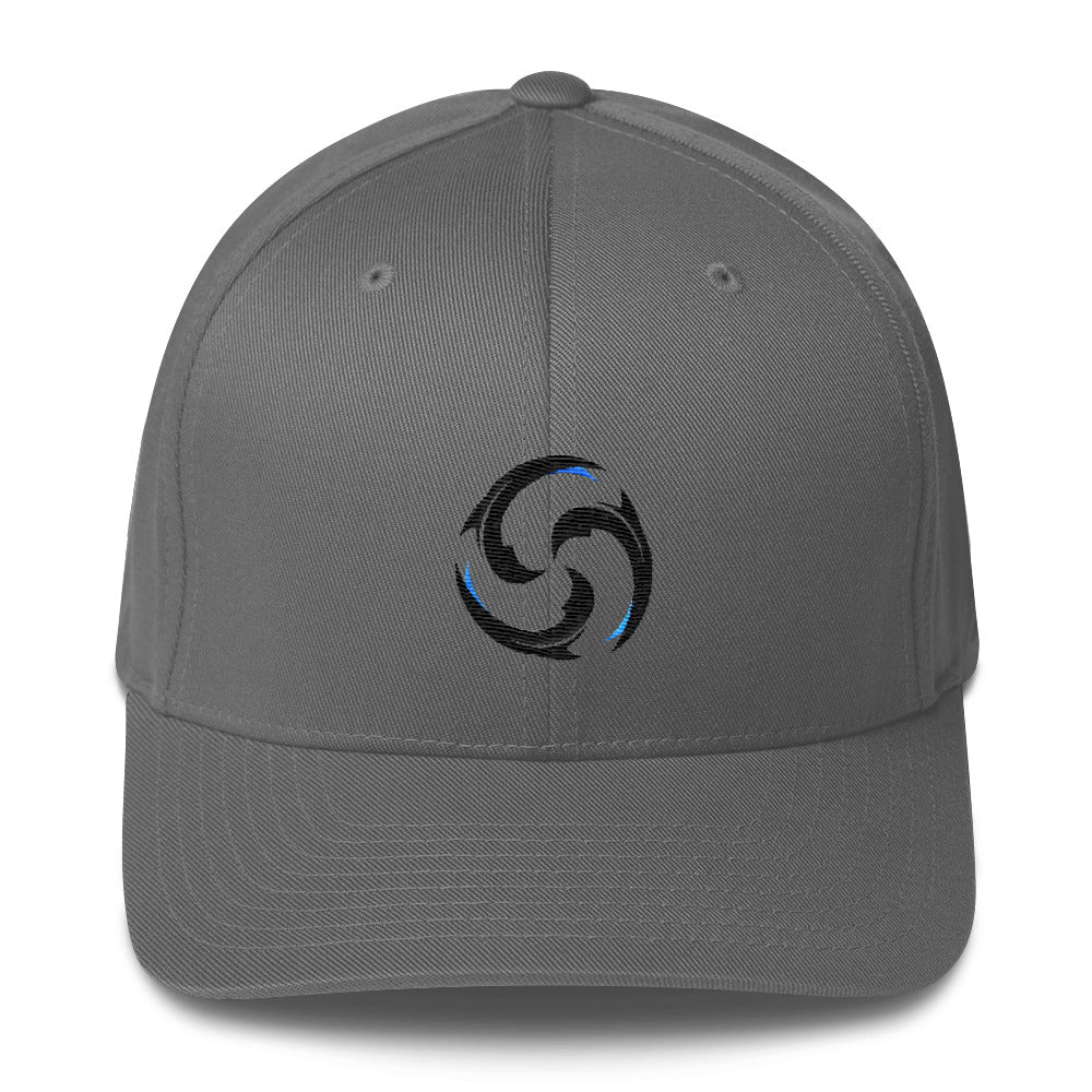 Find Your Coast Waterman Series Mid Profile Flexfit Hat - Find Your Coast Supply Co.