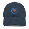 Find Your Coast Supply Company Distressed Unstructured Sport Hat - Find Your Coast Supply Co.