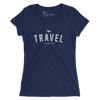 Women's Find Your Coast Travel Triblend Short Sleeve Tee - Find Your Coast Supply Co.