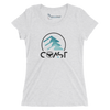 Women's Mountains to Coast Triblend Short Sleeve Tee - Find Your Coast Supply Co.