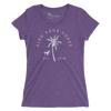 Women's Find Your Coast Trademark Palm Triblend Short Sleeve Tee - Find Your Coast Supply Co.