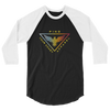 Men's 3/4 Sleeve Triad Raglan Shirt