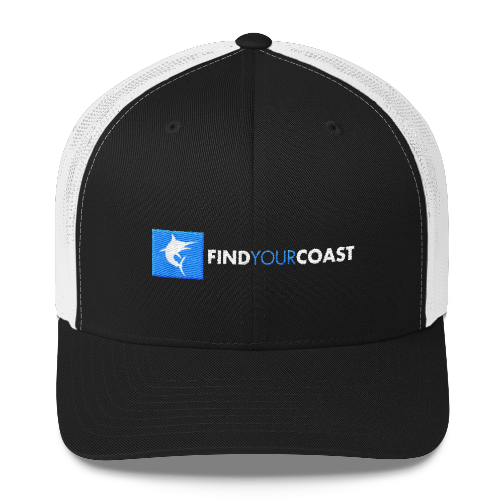 Find Your Coast Offshore Fishing Trucker Hat - Find Your Coast Supply Co.