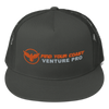 Find Your Coast Venture Pro Mesh Back Grey Adjustable Snapback - Find Your Coast Supply Co.