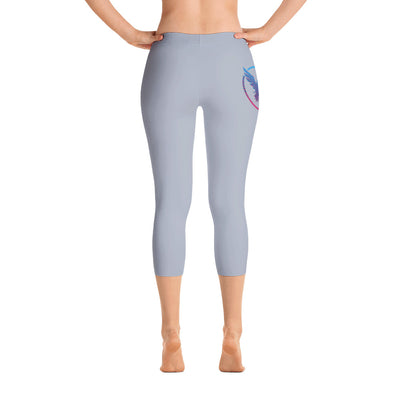 All Day Comfort Capri Leggings Pacific Supply II Grey - Find Your Coast Apparel